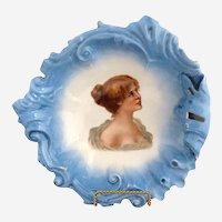 Victoria Austria bowl Victorian portrait c. 1890s