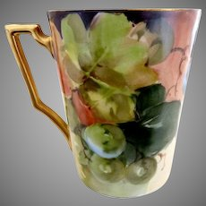 Bavaria wine cup hand painted Heinrich & Co.