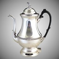 Silver King coffee pot percolator c. 1950s