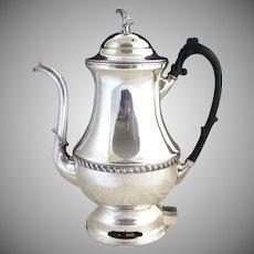 Silver King coffee pot percolator c. 1950s
