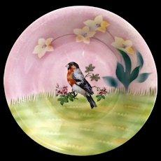 ES Prussia portrait bowl chickadee bird - Red Tag Sale Item