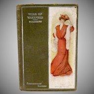 Antiquarian book Vicar of Wakefield p. 1907