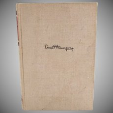 For Whom The Bell Tolls hardcover Ernest Hemingway First Edition thus p. 1940