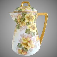 Art Deco porcelain covered cream pitcher Celebrate Germany