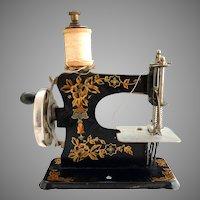 Antique German Casige toy sewing machine c. 1910