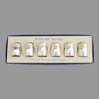 Sterling silver shaker set original box
