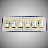 Sterling silver shaker set original box
