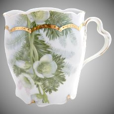 Antique Rosenthal porcelain shaving mug c. 1903