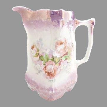 Antique German porcelain buttermilk pitcher