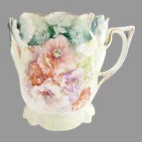 R.S. Prussia porcelain shaving mug