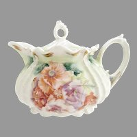 R.S. Prussia porcelain creamer Mold 535 c. 1890s