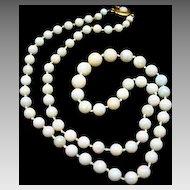 Opal Beads with a 9Karat Clasp