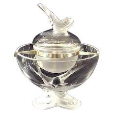 Lalique France Igor Caviar Dish