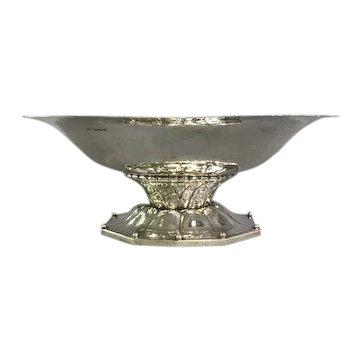 Georg Jensen Sterling Silver Pedestal Bowl