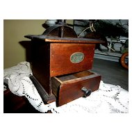 FALL SALE Item : Antique French Coffee Grinder by Japy Freres & Cie Beaucourt Paris