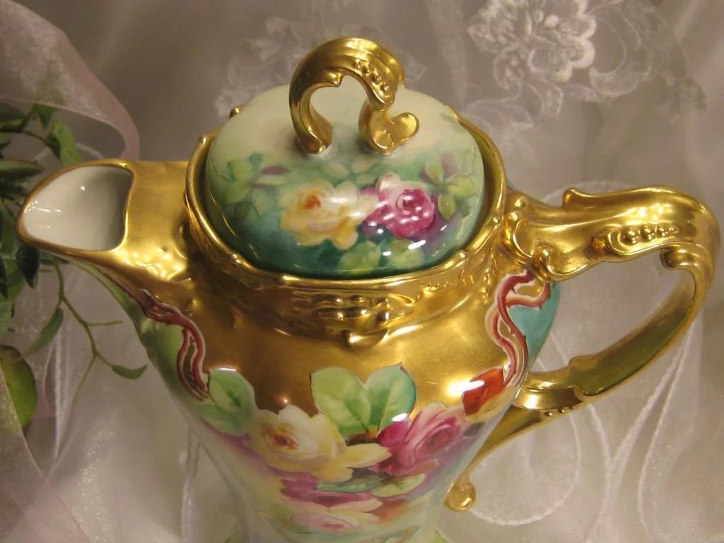 Absolutely Stunning Antique Limoges France Masterpiece