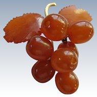Vintage Natural Amber Pin