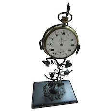 Victorian Antique Pocket Watch Holder