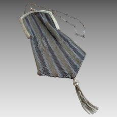 Vintage Circa 1920 Lustern Mesh Flapper Bag