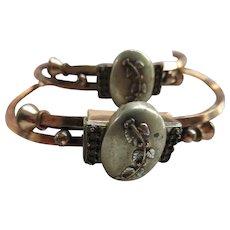 Antique Victorian Pair of Bangle Bracelets