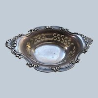 Vintage Sterling Open Salt or Dresser Tray