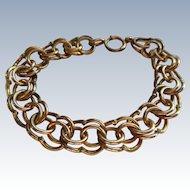 Older Vintage Gold Fill Charm Bracelet
