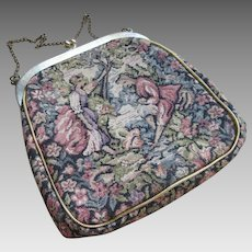 Vintage Brocade Evening Bag