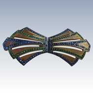 Deco 20s 30s Celluloid Paste Buckle