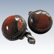 Vintage Natural Stone Cufflinks