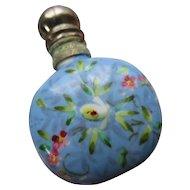 Antique Floral Perfume Bottle