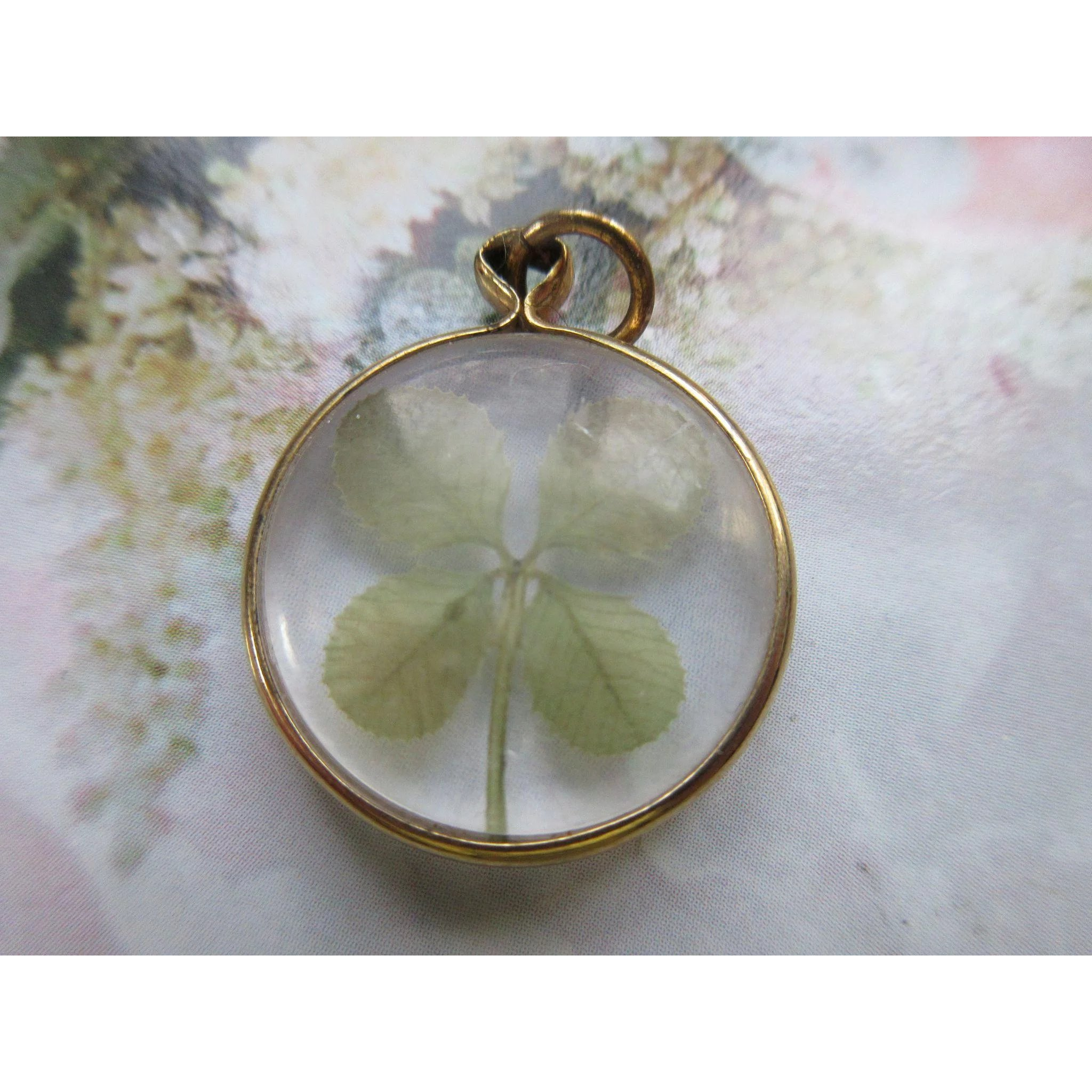 products gold fine lucky jewellers four pendant campbell white diamond campbelljewellers leaf clover