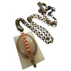 Jan Michaels Signed Bohemian Chic Necklace