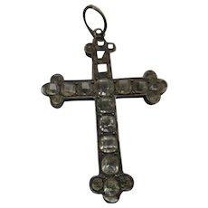 Antique Sterling Paste Cross