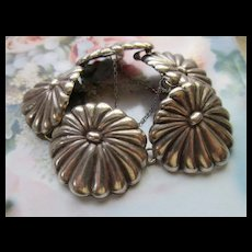 Vintage Los Castillo Mexican Sterling Bracelet