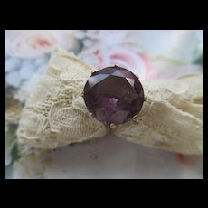 Vintage 14K Faux Alexandrite Ring