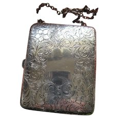 Antique Sterling Dance Purse