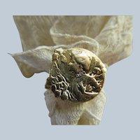 Antique Art Nouveau 14K E. Dropsy Ring