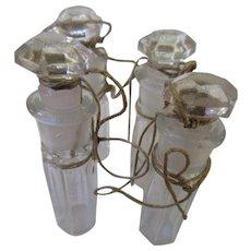 Circa 1900 New Old Stock Perfumes Apothecary Bottles