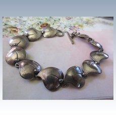 Vintage NE From Sterling Silver Bracelet
