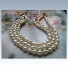 Vintage Fresh Water Pearl Bracelet
