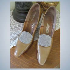 Vintage Shoes Berger's Buffalo Fancy Shoe Clips Margaret Jerrold by Irvine
