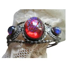 Vintage Dragons breath Cuff Bracelet