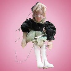 Older Vintage Marionette Puppet