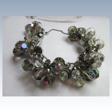 Juliana Crystal and Rhinestone Bracelet