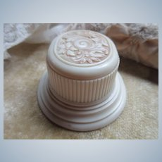 Vintage Deco Celluloid Ring Box for Wedding Set