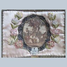 Victorian Thread Satchel Thread Holder Sewing Box