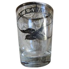 Vintage Just A Swallow Shot Glasses