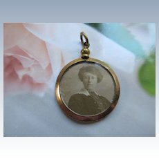 Antique Double Sided Picture Locket