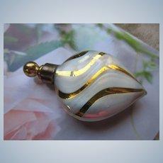 Vintage Art Glass Lay Down Perfume