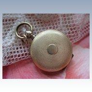Antique Pocket Watch Style Locket